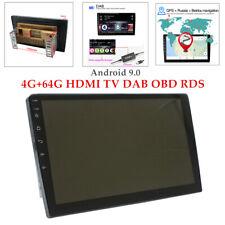 10.1''Android 9.0 Car Radio GPS Nav Stereo Audio Player 4G+64G HDMI TV DAB OBD
