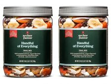 2Pk Archer Farms Handful of Everything Trail Mix 27 oz Jars