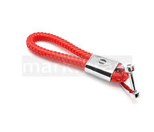 Mini Cooper RED Cooper Style Fashion Premium Car Key Ring fits ALL models