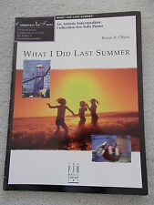 Kevin Olson What I Did Last Summer Interm Piano Solos New