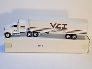 1991 ERTL 1/64 VCI VAN'S CABINET INC FIRST EDITION 1 OF 504 #9580 W/ORIGINAL BOX