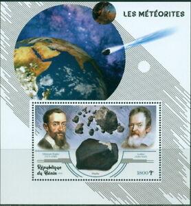 Meteorites Astronomers space s/s MNH Cat. Lollini etoile BEN15B #BEN19 20