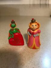 The Muppets Miss Piggy & Kermit Small Statues 1981