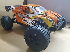 Large Electric Truggy RC car 1/10 Scale 4WD powerful Brushed motor - u.s seller