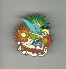 Disney Pin Back Button Tinkerbell With Mickey Ears Fireworks Resort