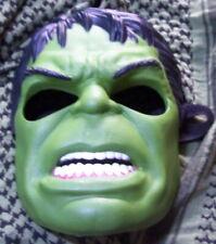 Incredible Hulk  Mask Marvel 2011 Hasbro costume GOOD HOOK & LOOP STRAPS-CLEANED