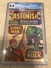 Tales to Astonish #60 CGC 8.0 off white WHITE pages! HIGH in Census