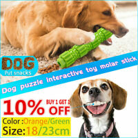Dog Chew Toys for Aggressive Chewers Treat Training Rubber Tooth Cleaning Toy US
