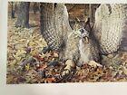 "Louis Agassiz Fuertes & The Singular Beauty of Birds, ""Great Horned Owl"" Print"