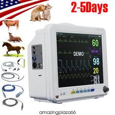 Vet Vital Signs Patient Monitor Multi Parameters Veterinary Patient Monitor Fda