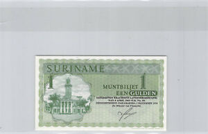 Surinam 1 Florin 1.11.1974 n° JW11108 Pick 116d