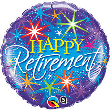 """18"""" BYE GOOD LUCK LEAVING RETIREMENT HELIUM FOIL BALLOON PARTY qual 37932"""