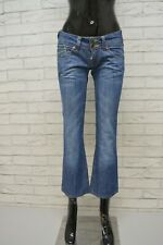TOMMY HILFIGER Jeans Corto Donna Taglia 26 40 Pantalone Woman Cotone Blu