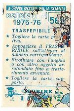 FIGURINA PANINI CALCIATORI 1975 76 N.569 - TRASFERIBILE MASCOTTE VARESE