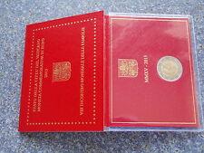 Vaticano 2 euro 2015 mondo riunione familiare BLISTER VATICAN FOLDER BU incontro Coin