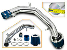 BCP BLUE 99-04 VW Golf Jetta 2.8 VR6 Polish Cold Air Intake System + Filter
