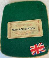 Lilliput Lane Wallace Station UK 1984 - 1985 Decor American Collection 150 made!