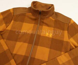 Under Armour Storm Field Fleece Flannel Yellow Jacket 1343263-707 Sz XL