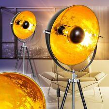 Lampada a stelo lampada da terra piantana dorata piedistallo soggiorno 147804