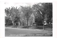 D46/ Staples Minnesota Mn Real Photo RPPC Postcard c1950s Faith Lutheran Church