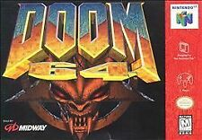 Doom 64 (Nintendo 64) Authentic N64 Game Tested FPS OEM Shooter SUPER FAST SHIP!
