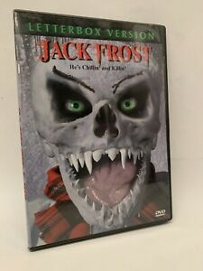 JACK FROST rare US Ardustry DVD cult LTBX uncut monster Christmas horror movie