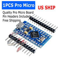 New Leonardo Pro Micro ATmega32U4 5V/16MHz Replace ATmega328 Arduino Pro Mini