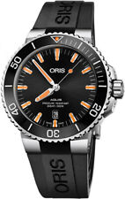 Oris Aquis Date Black Dial Men's Divers Watch 73377304159RS