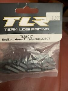 Team Losi Racing Rod End  HD Turnbuckle (12) TLR6017