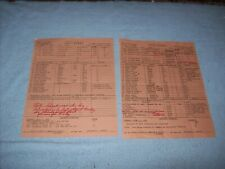 Authentic 1980 TV The Love Boat Production Used Call Sheets