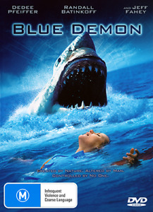 Jeff Fahey Dedee Pfeiffer BLUE DEMON - MUTANT GREAT WHITE SHARK HORROR DVD