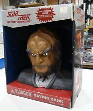 Star Trek Klingon Bust, Bank 1994 still in the Box