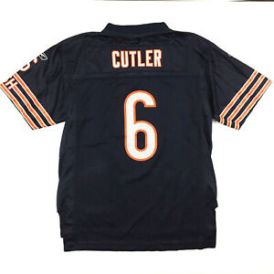 Chicago Bears Youth Jersey Jay Cutler #6 Reebok NFL Players Football Size Kids L