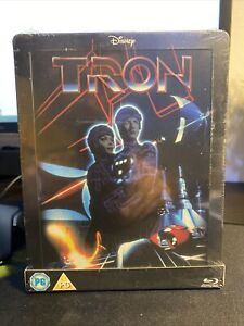 TRON STEELBOOK - Limited Edition UK - Rare   Zavvi Sold Out