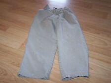 Boys Size 5 Regular Arrow Tan Khaki Pleated Dress / School Uniform Pants Guc