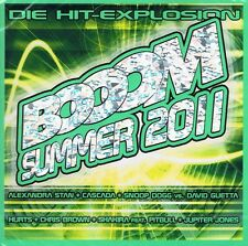 BOOOM Summer 2011 - 2 CD NUOVO Alexandra Stan Jupiter Jones Beth Ditto starsplash