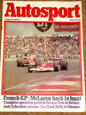 Autosport 8/7/76* FRENCH GP - JIM CLARK RALLY -POCONO 500 - G6 MIRAGE POSTER