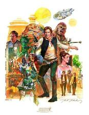 ACME STAR WARS Celebration VI Art Print Mark McHaley The Saga of Han Solo Poster
