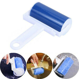 Sticky Roller Lint Washable Roller Cleaner Pet Hair Clothes Fluff DUKt Remover √