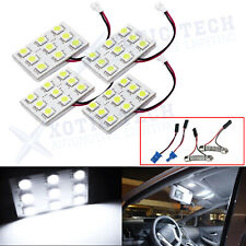 4x 5000k White Map Dome Trunk Interior Light Bulbs 9 LED Panels for Toyota Lexus