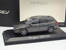 Norev 1/43 - Peugeot 308 SW Grise Anthracite