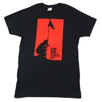 U2 Under A Blood Red Sky Black T Shirt New Official Band Merch Album Art