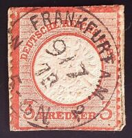 CatalinaStamps: Germany Stamp #9 Used, SCV=$14.50, #A138