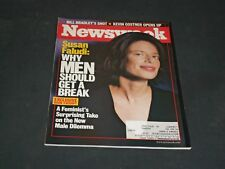 1999 SEPTEMBER 13 NEWSWEEK MAGAZINE - WHY MEN SHOULD GET A BREAK - NW 563