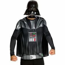 STAR WARS DARTH VADER COSTUME TOP CAPE AND MASK ADULT L RUBIES DISNEY 887981