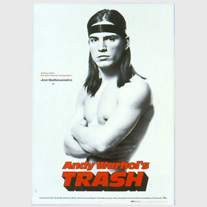 Andy Warhol Rare Original Andy Warhol's Trash c.1970 Vintage Poster MISC03.7087