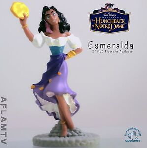 Hunchback Notre Dame Esmeralda PVC figure Cake Topper Figurine Disney Applause