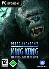 KING-KONG PETER JACKSONS The Official Jeu OF THE MOVIE PC utilisé