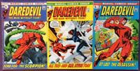 Daredevil #82,83 & 84. (Marvel 1971) 3 x Bronze Age issues.