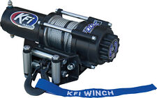 KFI 3000 LB Water Resistant Winch with Mini-Rocker Switch and Corded Remote